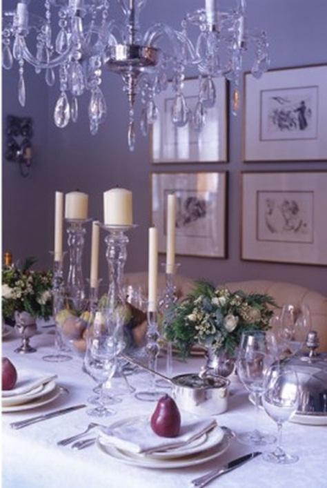 Decora y disena 16 mesas decoradas para la navidad - Mesas de navidad decoradas ...