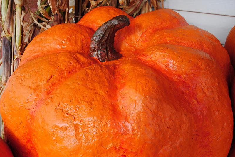 Dahlhart lane how to make a giant pumpkin for Pumpkin stems for crafts