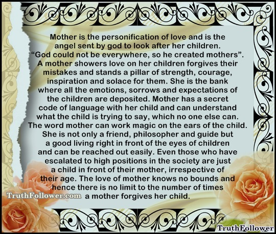 the unconditional love of a mother to a child 520 quotes have been tagged as unconditional-love: katja millay: 'people like to say love is unconditional mother-s-love, unconditional-love.
