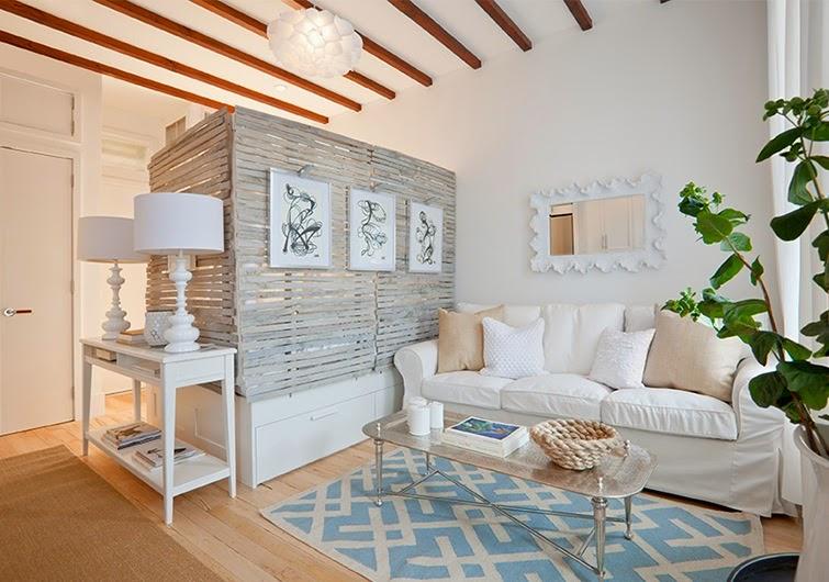Dividir zonas monoambiente decorar espacios peque os for Decoracion en ambientes reducidos