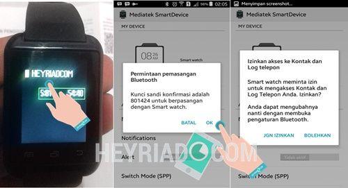 Cara Koneksi Smartwatch U8 Android
