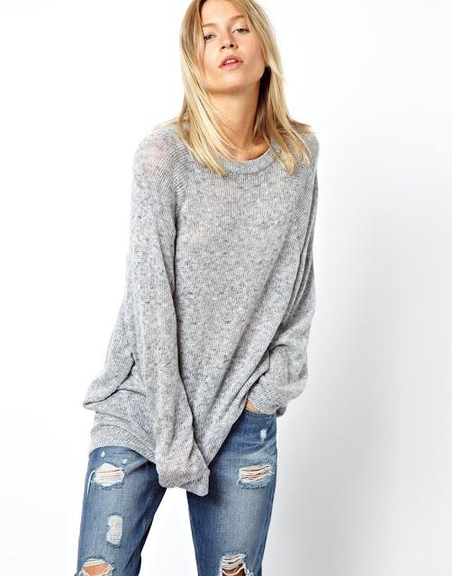 large grey top