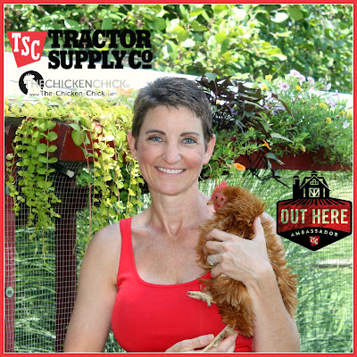 The Chicken Chick, Life Out Here Brand Ambassador for Tractor Supply Company
