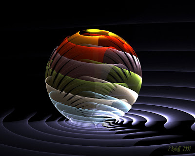 abstract colorful ball wallpaper