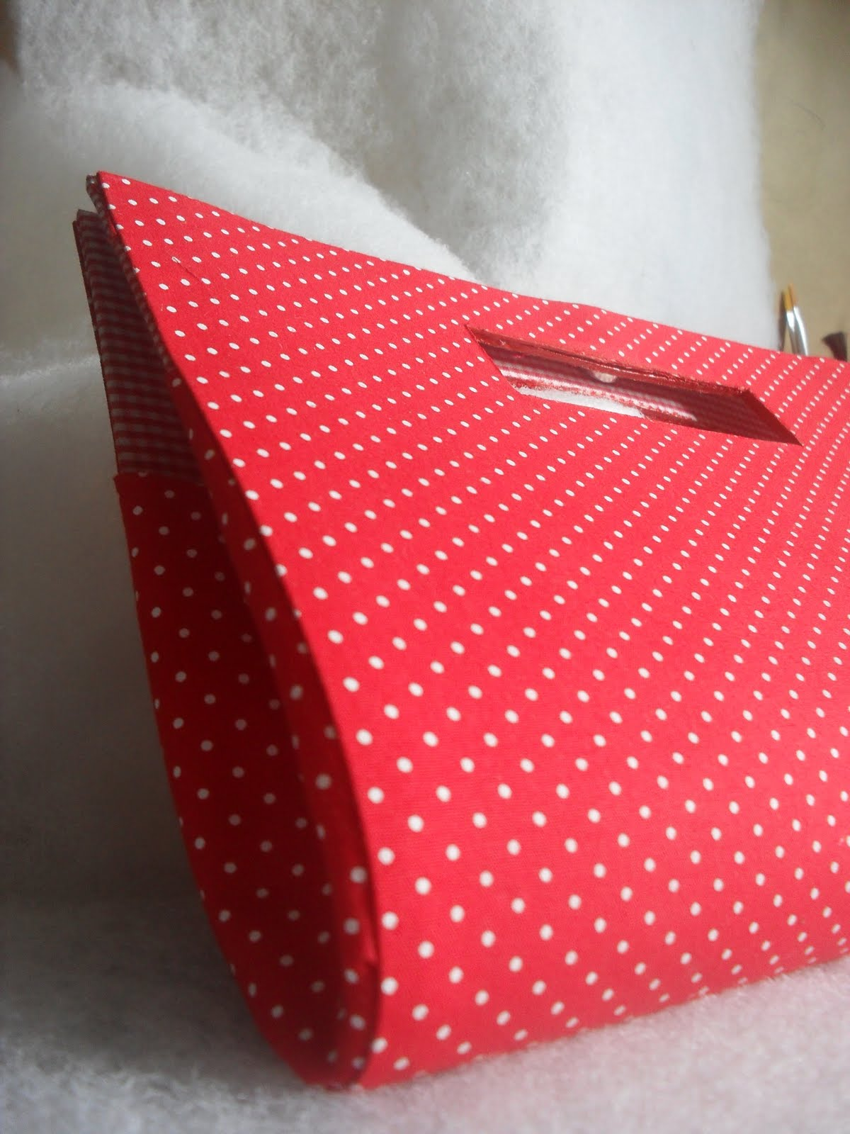 Bolsa De Mao Em Cartonagem Passo A Passo : Cartonagem pati torres bolsa de m?o