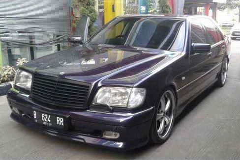 1996 mercedes benz s 600 l v12 mobil bekas rental mobil for Mercedes benz 600 v12