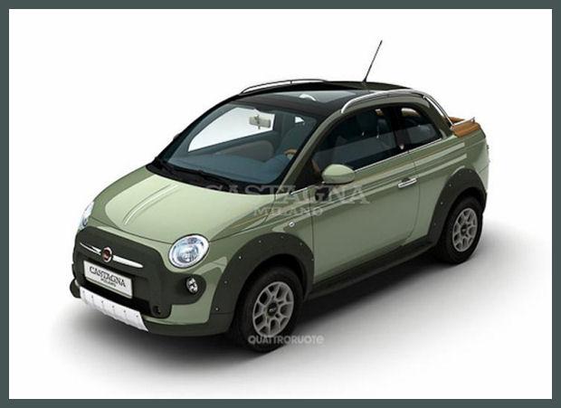 5ooblog Fiat 5oo New Fiat 500 Amp 500 C Pick Up Concept
