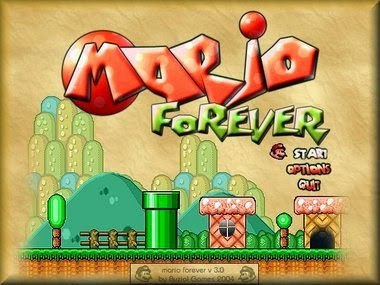 Super Mario Forever Mini Game Seru Full Version