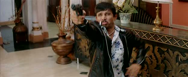 KRK puts all his dum into pressing the trigger. The shot missed.