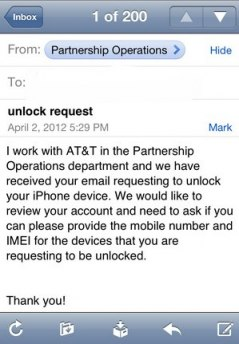 Unlock iPhone with help from Tim Cook