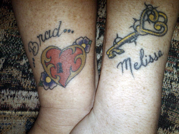 Love quotes tattoos for couples for Love tattoos for couples