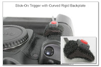 Stick-On Trigger with Curved Rigid Backplate
