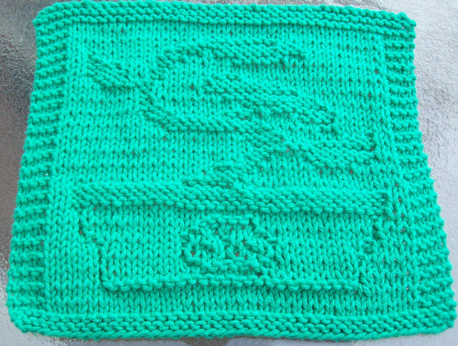 Free Knitting Pattern Tree Dishcloth : DigKnitty Designs: Bonsai Tree Knit Dishcloth Pattern