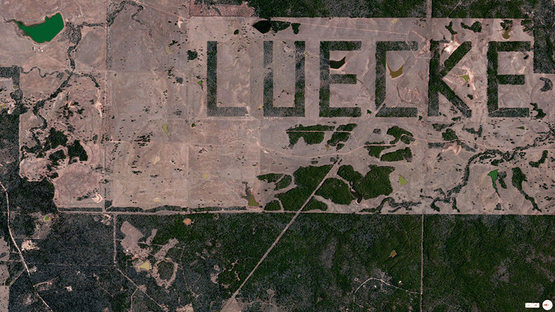 Foto mozzafiato: USA: Smallville, Texas - Fattoria Luecke