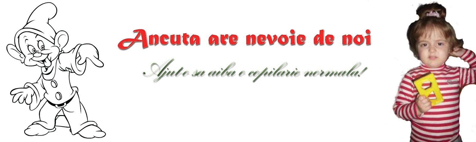 Ancuta are nevoie de noi!