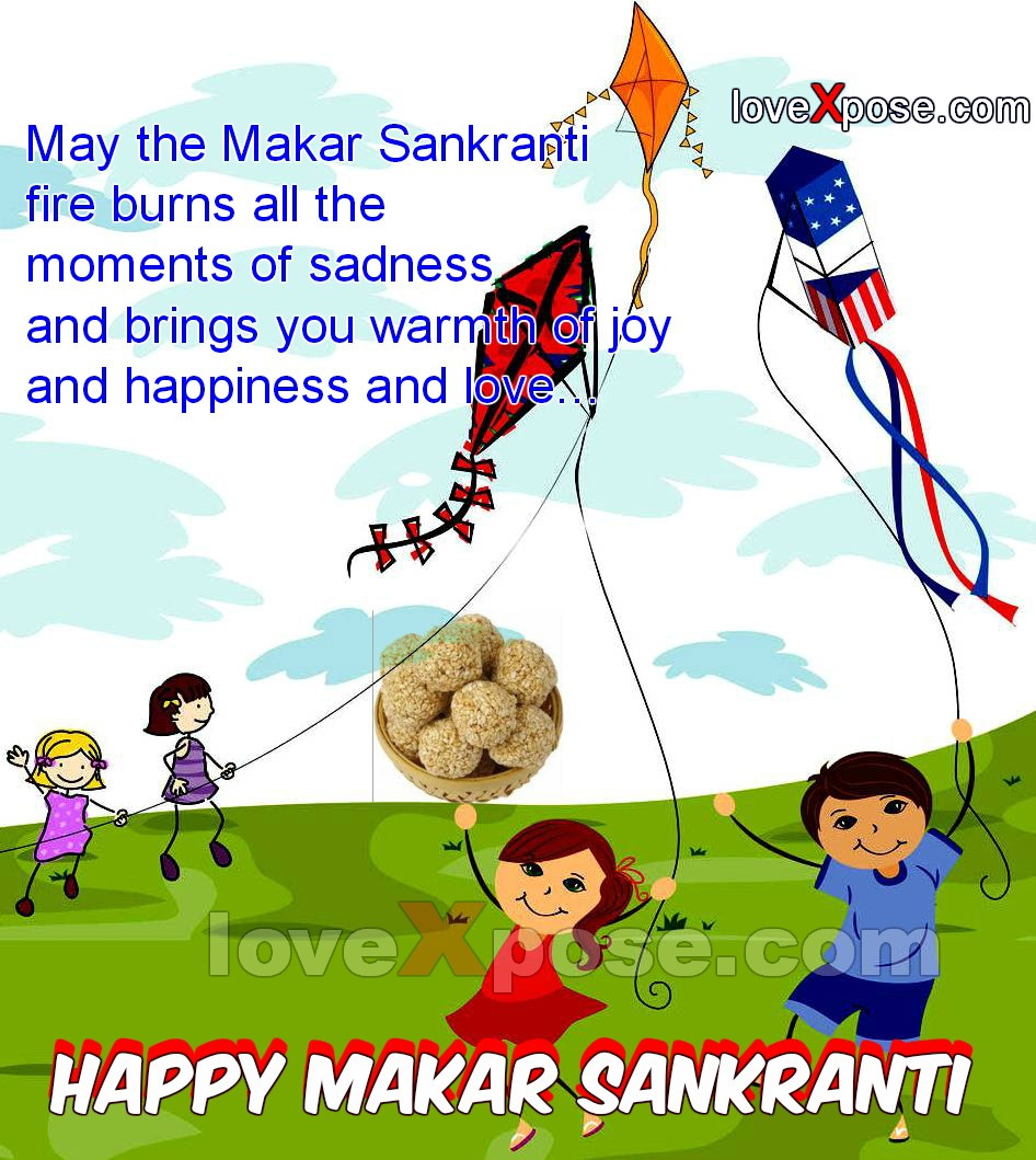Makar Sankranti English status wishes quotes photo