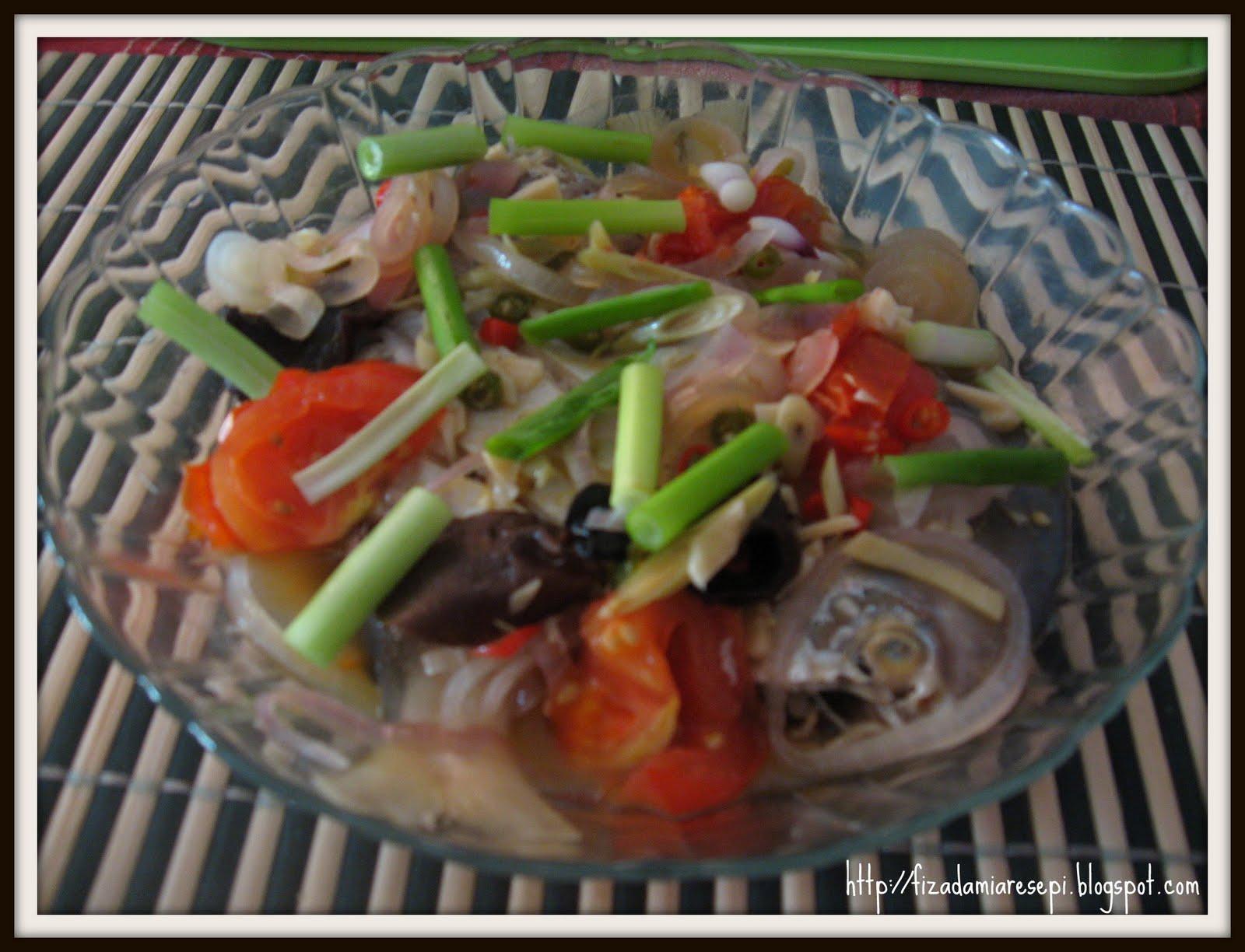 Ikan Kukus Ala Thai