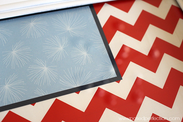 A little spray paint and scrapbook papers are all you need to transform old pictures into adorable picture trays!