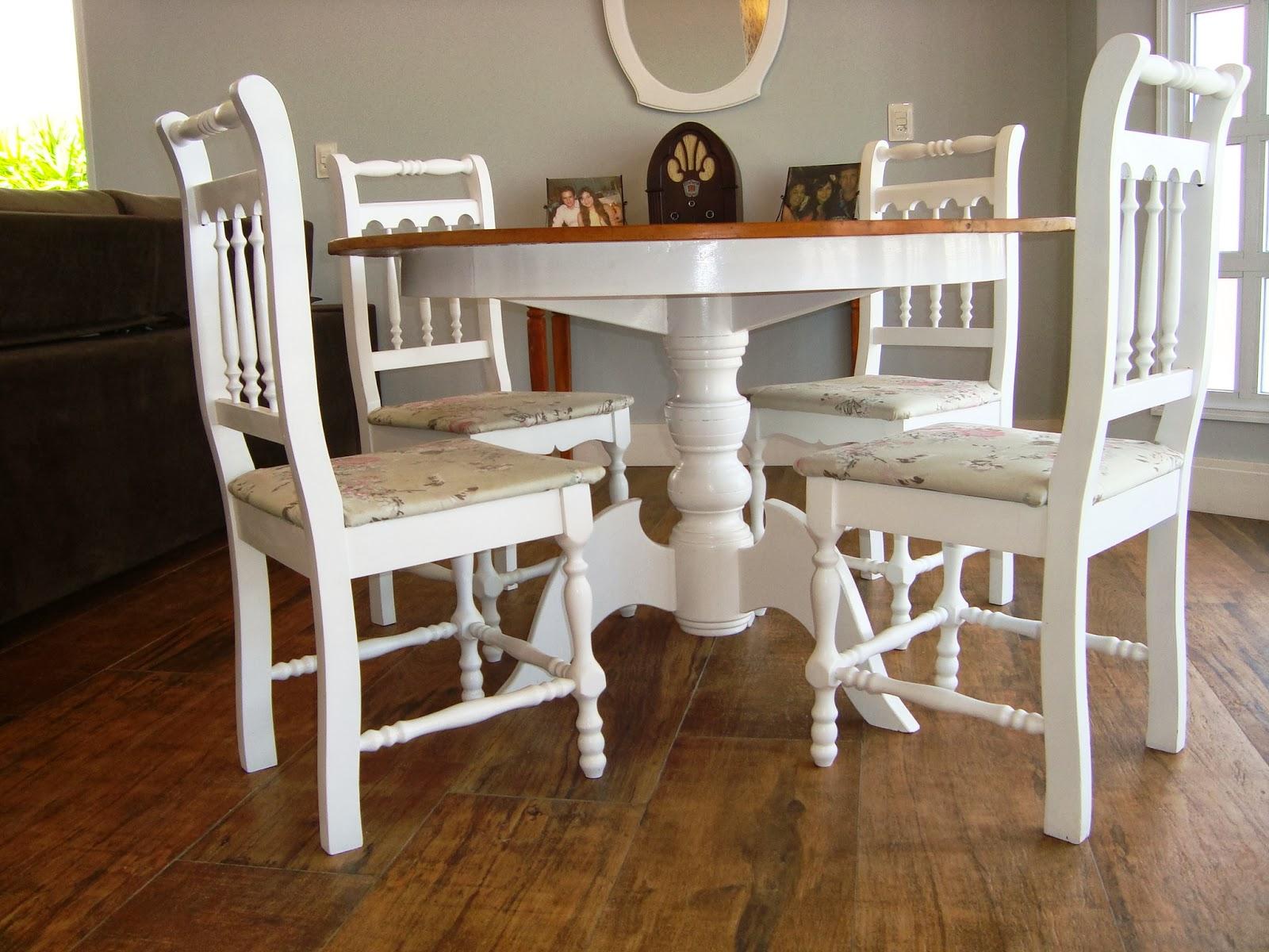 #AABE0D Adoro móveis com base branca e tampo em madeira! 1600x1200 píxeis em Como Pintar Sala De Estar E Jantar