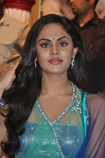 Karthika spotted in traditional Transparent Indian Wear and Chunni