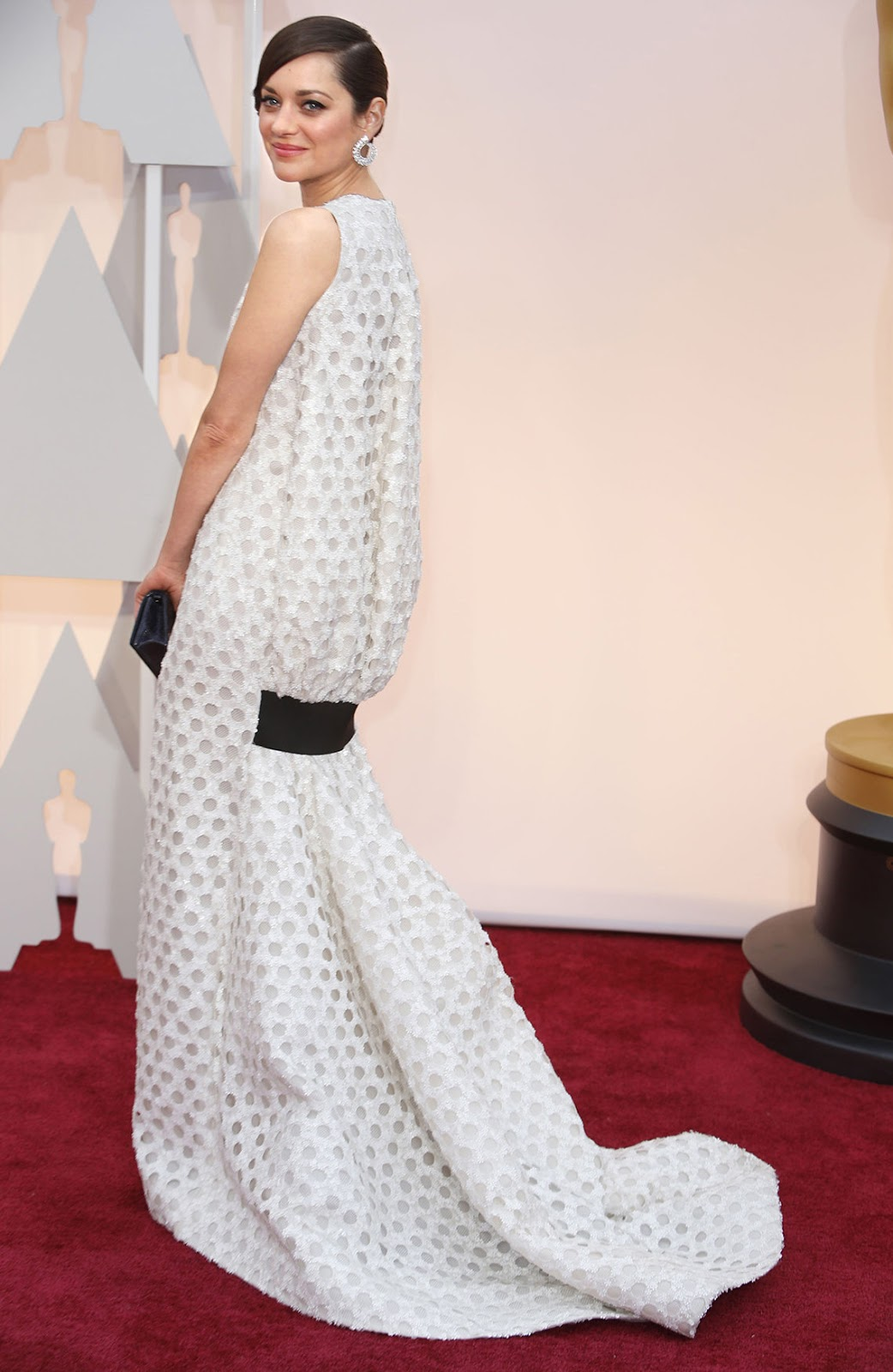 Marion Cotillard in Dior at the Oscars 2015