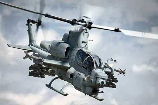 AH-1Z Viper Twin-Engine Attack Helicopter