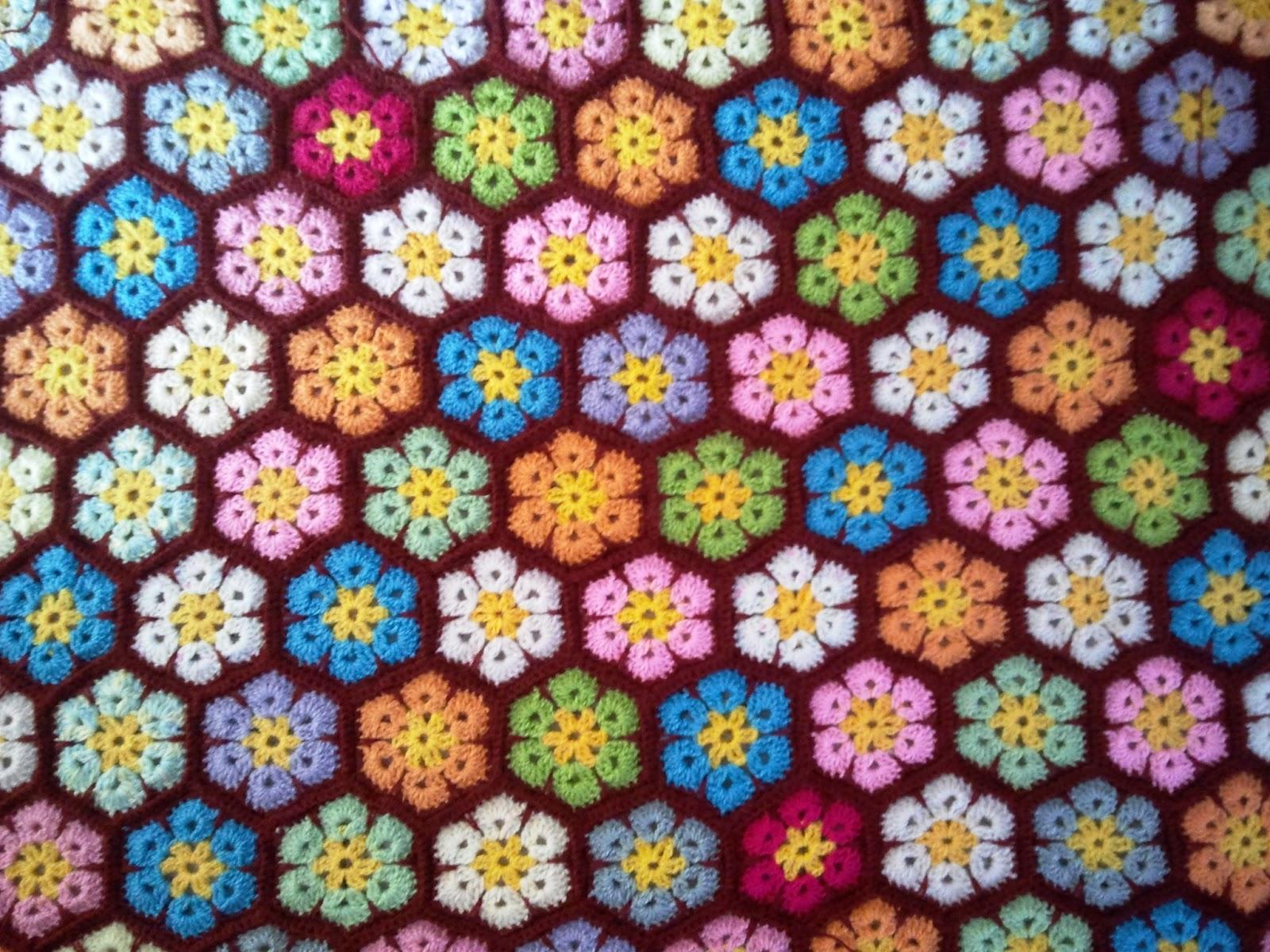 Un espacio para mi reporte de avances mantas crochet - Mantas de ganchillo faciles ...