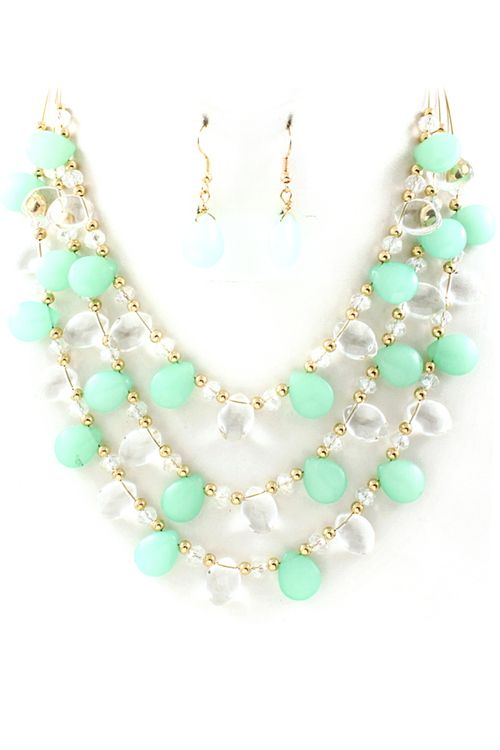 Minty Ella Necklace