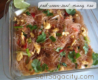 Pad Woon Sen Mieng Xao Silver Noodles
