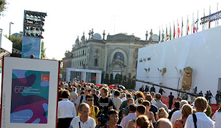 People are attending Venice Film Festival