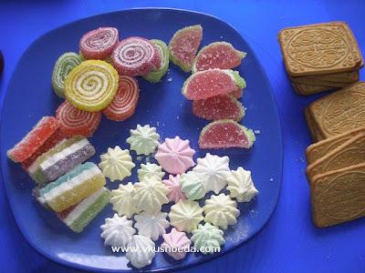 украшение печенья мармелад