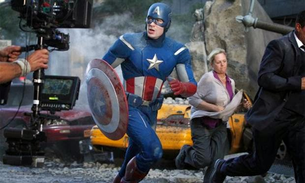Captain America The Winter Soldier Cast Trailer