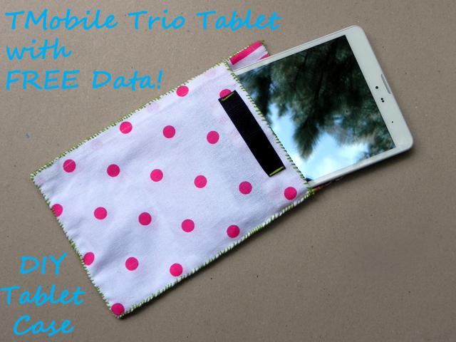 Mobile Free Data For Life Tablet ~ DIY Tablet Case