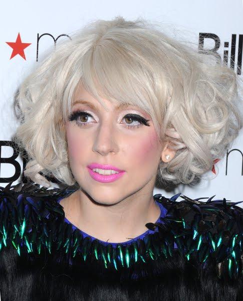 lady gaga hairstyles - celebrity