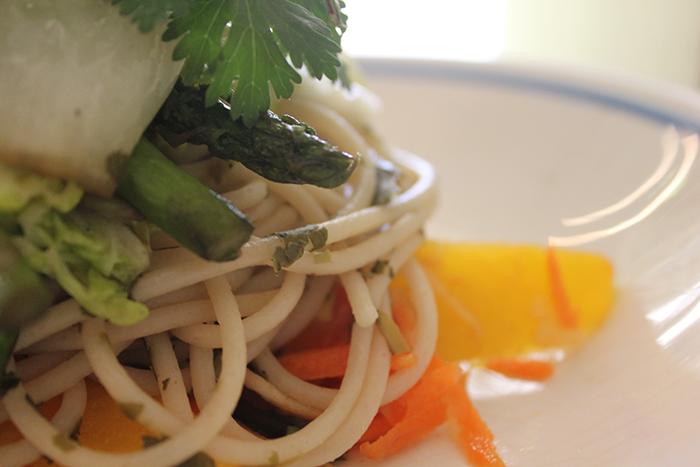 Green Tea Noodle Salad