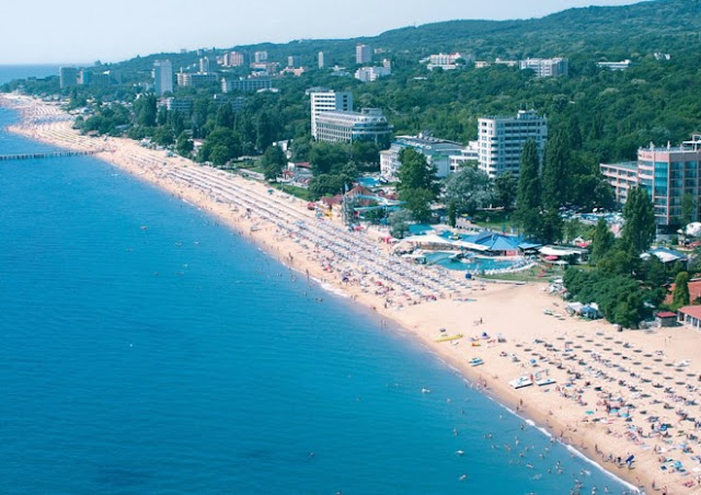 Bãi biển ở Bulgaria