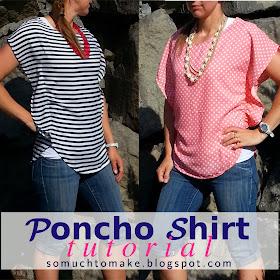Poncho Shirt Tutorial