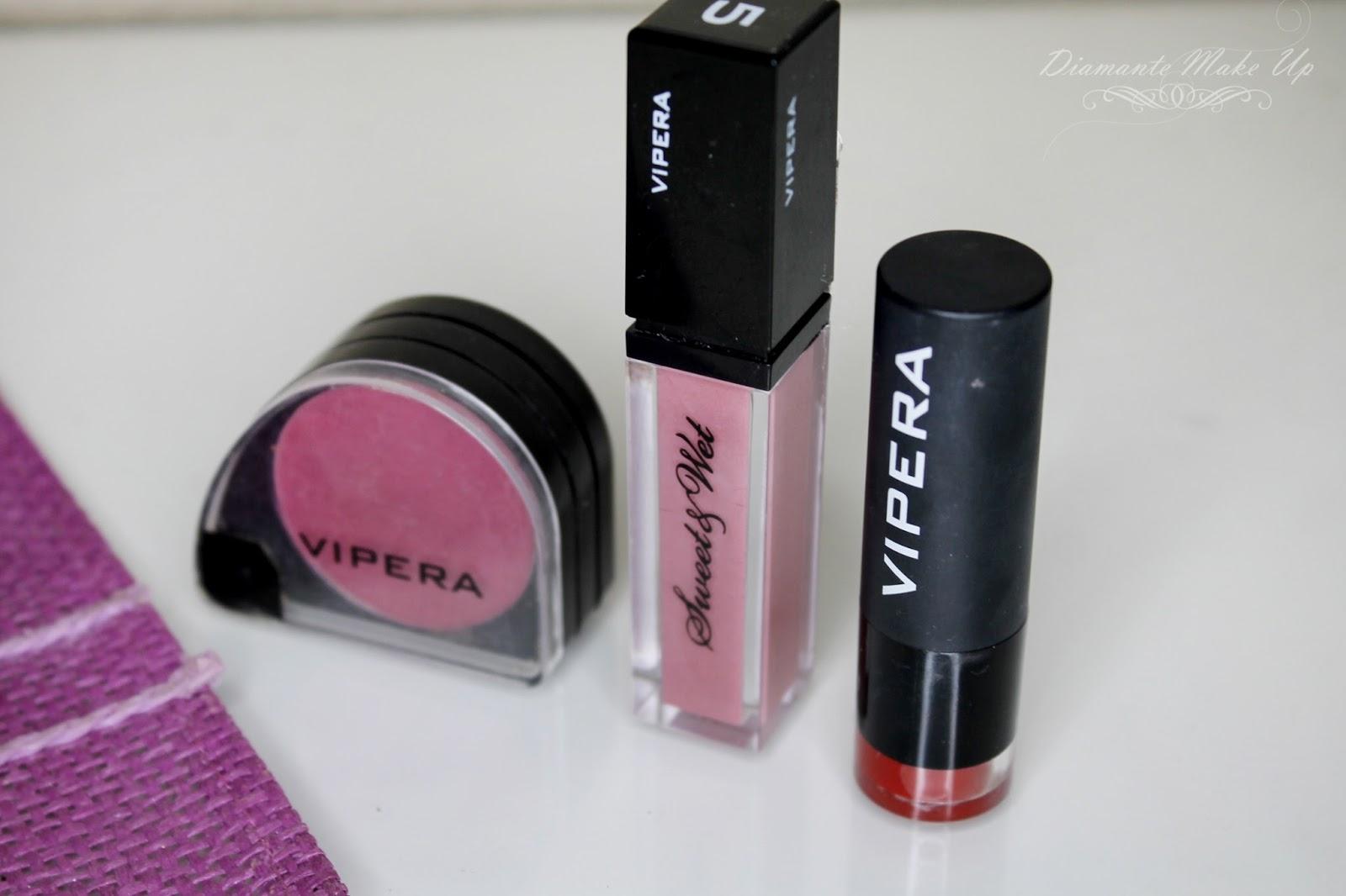 Recenzja zbiorcza 3w1 - produkty do ust Vipera Cosmetics