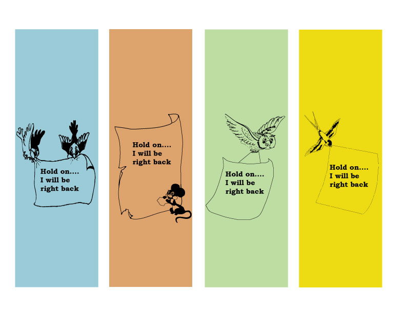 Cool Bookmarks Part - 18: Free Little Cutie Bookmarks For You To Print!!
