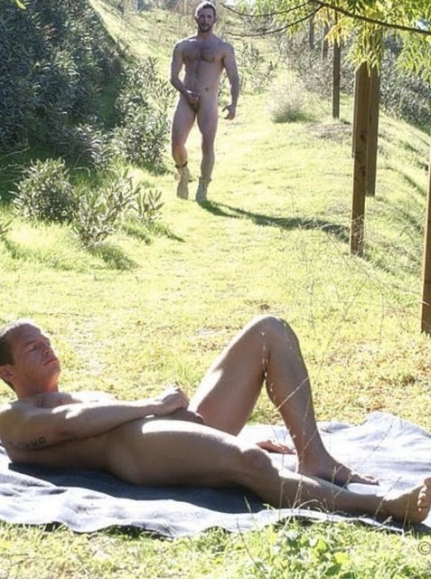 Men hiking nude colorado