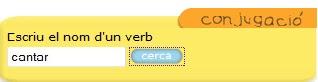 Conjugació de verbs