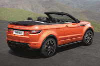Land Rover Range Rover Evoque Convertible (2016) Rear Side