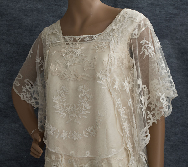 little winter bride: Vintage 1920\'s lace wedding dress