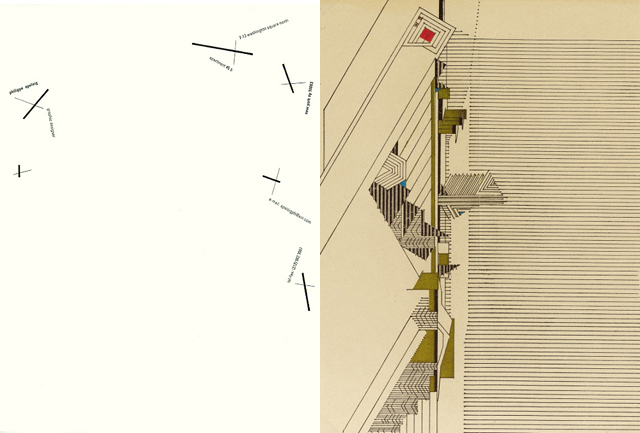 Philippe Apeloig Frank Lloyd Wright letterhead