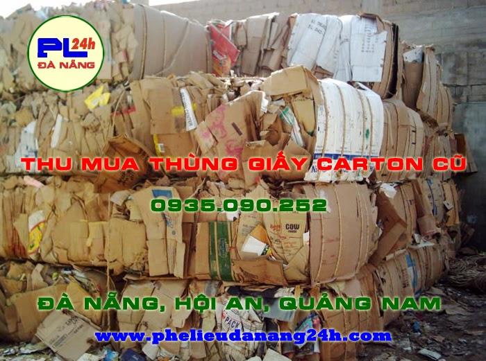 Thu mua thùng giấy carton cũ tại Đà Nẵng