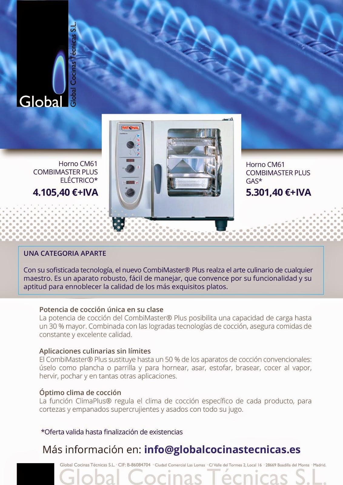 Global Cocinas Técnicas: 2015