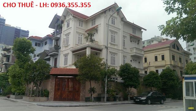 Cho Thuê Biệt Thự Khu Đô Thị Trung Yên