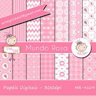 Papéis Pink Doll