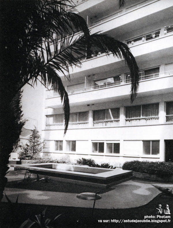 Paris 16ème - Immeuble rue des Belles-Feuilles  Architectes: Jean Ginsberg, André Ilinsky  Construction: 1950-1952