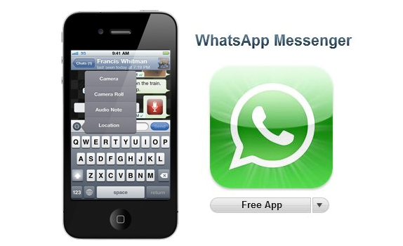 Whatsapp for iPhone is now free
